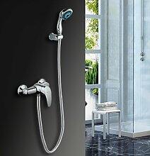 SUHANG Badezimmer Dusche Dusche Alle Kupfer Warmes Und Kaltes Wasser Dusche Badewanne Armatur