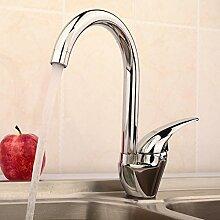 SUHANG Die Küche Kalt Und Heiß Mehrzweck Universal Kupfer Rotierende Einloch Edelstahl Waschbecken Armatur Waschbecken Wasserhahn Behälter