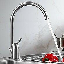 SUHANG Küche Waschbecken Mit Warmen Und Kalten Wasserhahn Edelstahl Leadless Waschbecken Zeichnung Kopf