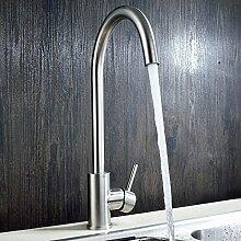 SUHANG Küche Waschbecken Mit Warmen Und Kalten Wasserhahn Edelstahl Bleifreie Waschbecken Wasserhahn Drehbar