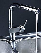 SUhang Küchenarmaturen Kitchen Sink Faucet Gebürstetes Nickel Finish Einzigen Griff Herausziehen Mischbatterie Küche Wasserhahn