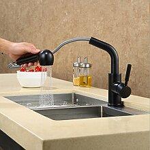 SUhang Küchenarmaturen Quarz Waschbecken Aus Stein Faucet Kitchen Sink Faucet Heiß Und Kalt Gezogen Wasserhahn