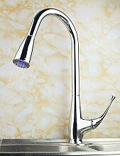 SUHANG Square Design Einzigen Griff Messing Ausziehbare Armatur Waschbecken Oder Küche Mixer Küche Wasserhahn