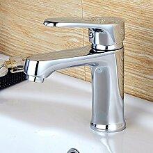 SUHANG Voll Kupfer Waschtisch Armatur Waschtisch Armatur Mix Heißen Und Kalten Wasserhahn