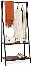 Suhu Fahrbarer Kleiderständer Garderobenständer