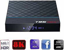 SUHUIHUANG T95MAX Media Player TV Box HDMI 2.1to