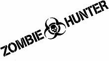 SUIFENG Autoaufkleber 19.5X3.5Cm Zombie Hunter