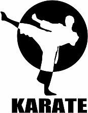 SUIFENG Autoaufkleber 19.6Cmx25.4Cm Karate Sports