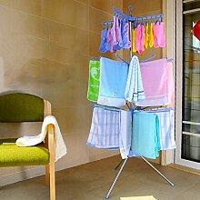 SUIXINSUOYU Baby pullover wäscheständer klappbar,Home kinder kleiderbügel boden mehrschichtigen neugeborenen windel regal faltbare baby kleiderbügel-A