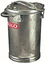 Sulo 000 29084 Mülleimer verzinkt 35 Liter