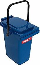 SULO Müllbehälter Mülleimer MB 25, Inhalt 25 l - Blau