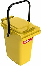 SULO Müllbehälter Mülleimer MB 25, Inhalt 25 l - Gelb