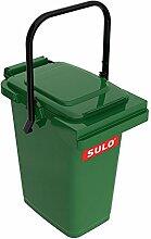 SULO Müllbehälter Mülleimer MB 25, Inhalt 25 l - Grün