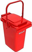 SULO Müllbehälter Mülleimer MB 25, Inhalt 25 l - Ro