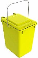 SULO Mülleimer Vorsortierbehälter Bio Boy, Inhalt 10 l - Gelb