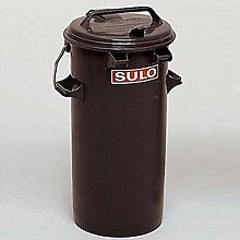 SULO Mülltonne, Mülleimer, Systemmülleimer, 50 l, ohne Bügel, aus Kunststoff