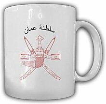 Sultanat Oman Wappen Emblem Uman Kaffee Becher Tasse #13841