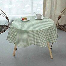 SULUO Geometrische Runde Tischdecke Tischdecke