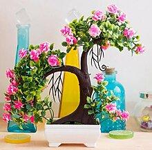suluxin Künstliche Blumen In Einer Rustikalen Art