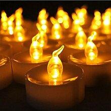 SULYMY Kerzen, 12 Stück, ultrahelle LEDs,