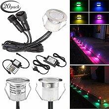 SUMAOTE 20 Stück LED Einbaustrahler LED