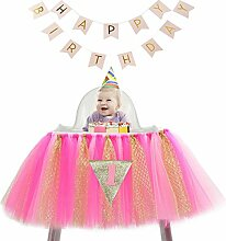 Sumchimamzuk Geburtstag Deko Baby Prinzessin Tutu
