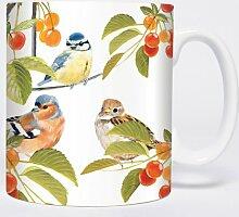 Summer Birds – Vögel - Mugs - Becher - Chopes