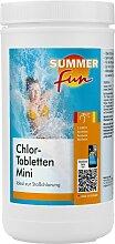 SUMMER FUN Chlortabletten Chlor-Mini-Tabletten,