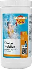 SUMMER FUN Poolpflege Combi-Tabletten, 1,2 kg