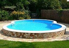 Summer Fun Stahlwandbecken Kreta Exklusiv achtform