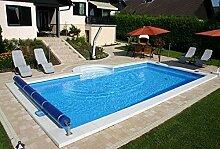 Summer Fun Styropor Schwimmbecken Set rechteckig