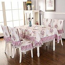 Summer table tuch,modernes einfaches lace round table tuch,rechteck tischdecke-F 150x200cm(59x79inch)