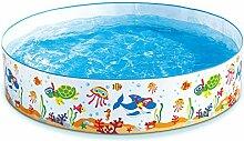 Summer Waves kc0059000516Pool selbsttragend 700L weiß 183x 183x 38cm