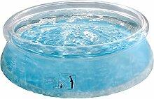 Summer Waves p10006201503Pool selbsttragend 833L transparent 183x 183x 50cm