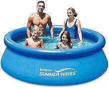 Summer Waves p10008261503Pool selbsttragend 2240L Blau 244x 244x 66cm