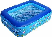sumuya Aufstellpool Schwimmbecken Swimming Pool Schwimmbad Ersatzpool 115x85x35cm
