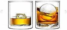 Sun's Tea Doppelwandiges Whiskey/Scotch Rocks