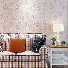 Sun Flower Vliestapeten Rebe Schlafzimmer Rosa Warmen Tapete Wohnzimmer Tv Hintergrund Wand Studie 53Cmx1000Cm