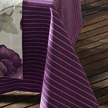 Sun Garden 10121178 20461-35 Tisch-Decke 160 rd. Dessin Streifen lila