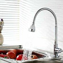 SUN LL Küchenarmaturen, drehbare Hähne, Single Handle Waschbecken Wasserhahn