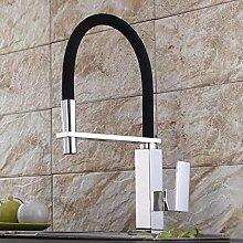 SUN LL Küchenarmaturen, drehbare Hähne, Single Handle Waschbecken Wasserhahn ( farbe : 1# )