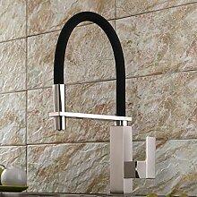 SUN LL Küchenarmaturen, drehbare Hähne, Single Handle Waschbecken Wasserhahn ( farbe : 2# )