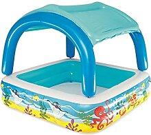 Sun Shade Pool,kinderplanschbecken Aufblasbarer