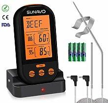 sunavo MT-05 Digital Funk Grillthermometer