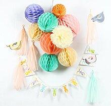 SUNBEAUTY Papier Ostern hängende Dekoration