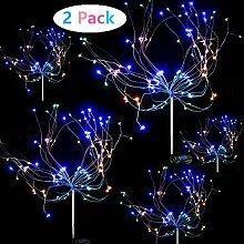 Sunboia Garten Solarleuchte Feuerwerk