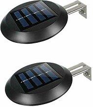 Sunboia Solar Zaun-Lichter Solarleuchten Garten 9
