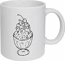 Sundae' Ceramic Mug/Travel Coffee Mug