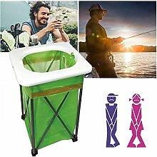 suneagle Tragbare Camping-Toilette,
