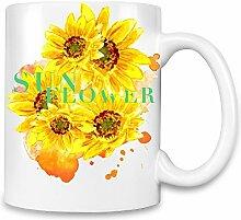 Sunflower Kaffee Becher